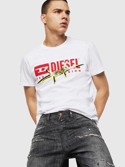 Diesel - T-DIEGO-BX2, Weiß - T-Shirts - Image 4