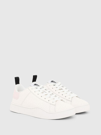 Diesel - S-CLEVER LOW LACE W, Weiß/Rosa - Sneakers - Image 2