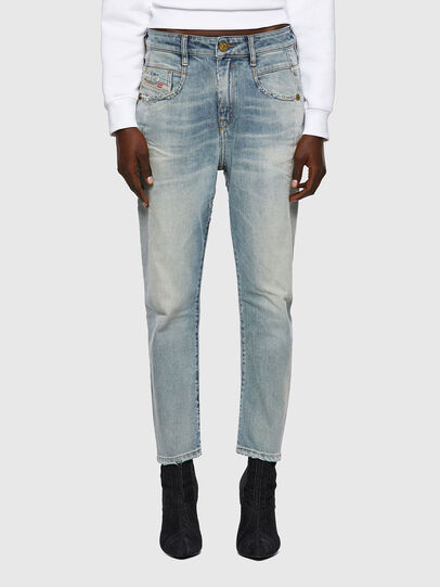 Diesel - Fayza 09A04, Blu Chiaro - Jeans - Image 1