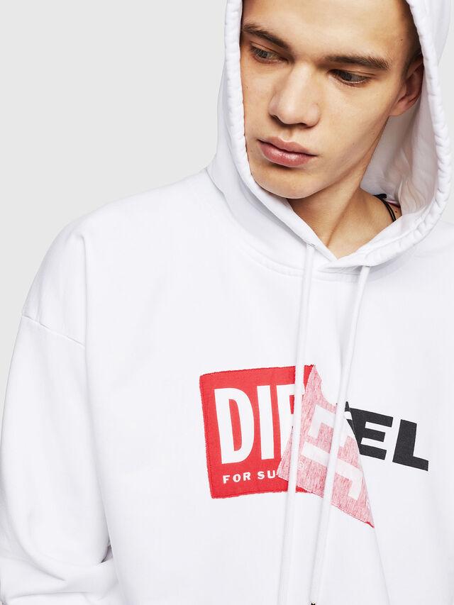 Diesel S-ALBY, Weiß - Sweatshirts - Image 3