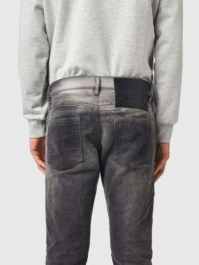 Diesel - D-Strukt JoggJeans® 09B04, Schwarz/Dunkelgrau - Jeans - Image 4