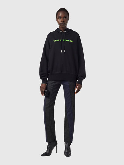 Diesel - F-MAGDALENA-B3, Black - Sweaters - Image 4