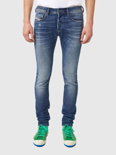 Diesel - Sleenker 09A86, Bleu Clair - Jeans - Image 1