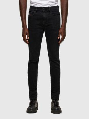 D-Amny 084ZN, Nero/Grigio scuro - Jeans