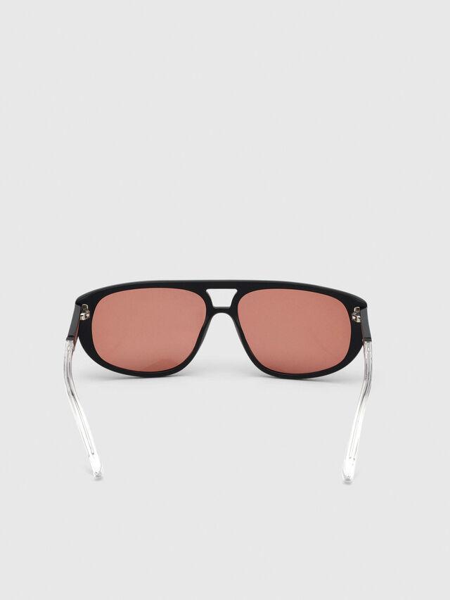 Diesel - DL0300, Schwarz/Weiß - Sonnenbrille - Image 4