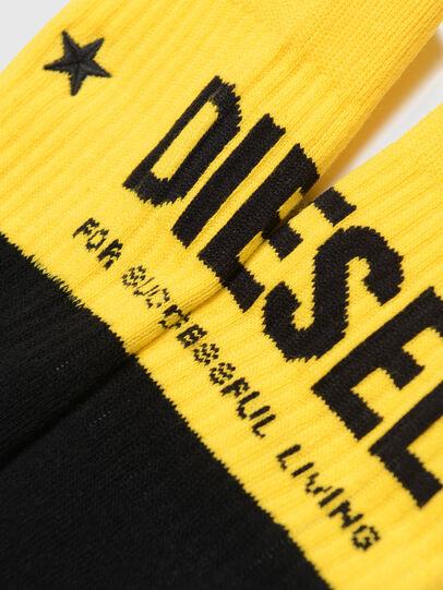 Diesel - SKM-ZRAY, Schwarz/Gelb - Underwear - Image 3