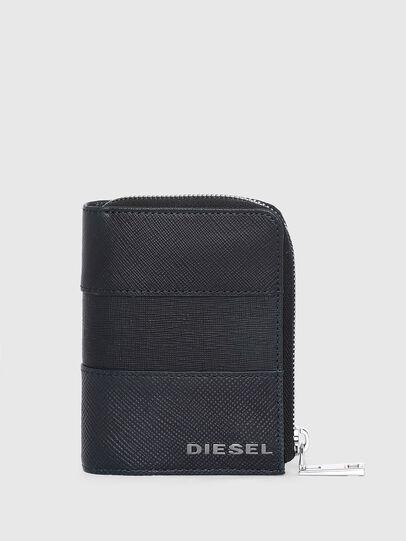 Diesel - L-12 ZIP, Bleu - Portefeuilles Zippés - Image 1