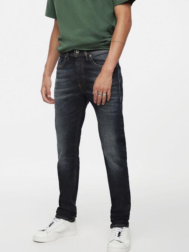 Thommer 084ZU, Dunkelblau - Jeans