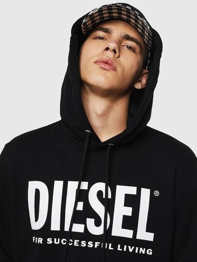 Diesel - S-GIR-HOOD-DIVISION-, Schwarz - Sweatshirts - Image 3