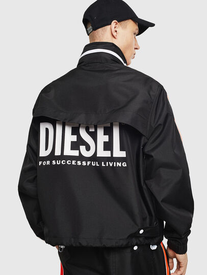 Diesel - J-BROCK, Schwarz - Jacken - Image 3