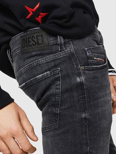 Diesel - Sleenker 084AT, Schwarz/Dunkelgrau - Jeans - Image 5