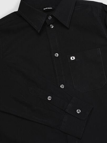 Diesel - CSMOI, Schwarz - Hemden - Image 3