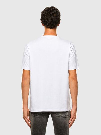Diesel - T-JUST-X65, Weiß - T-Shirts - Image 5