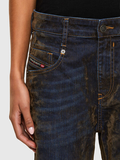 Diesel - Fayza 069RQ, Blu/Giallo - Jeans - Image 3