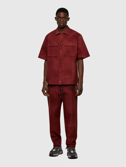 Diesel - S-GUNN-TIE, Rosso - Camicie - Image 5