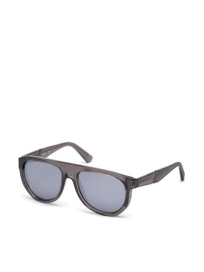 Diesel - DL0255, Grau - Sonnenbrille - Image 4