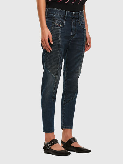 Diesel - Fayza JoggJeans 069PQ, Dunkelblau - Jeans - Image 6