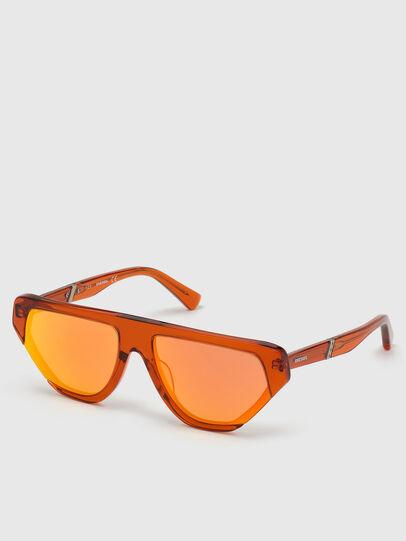 Diesel - DL0322, Orange - Lunettes de soleil - Image 2