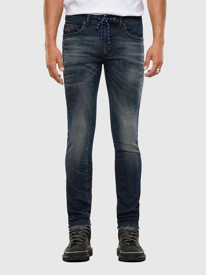 Diesel - Thommer JoggJeans 069NT, Dunkelblau - Jeans - Image 1