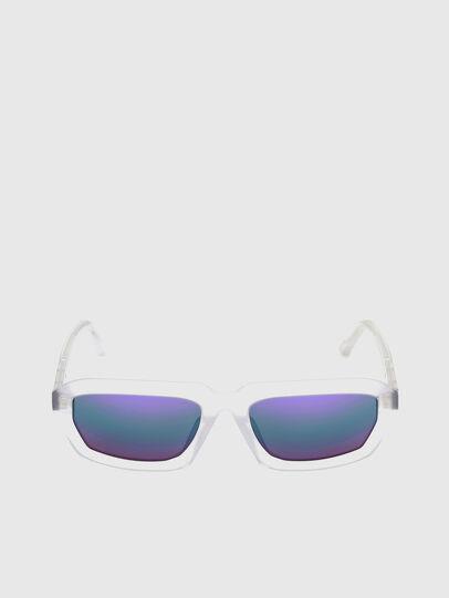 Diesel - DL0347, Bianco - Occhiali da sole - Image 1