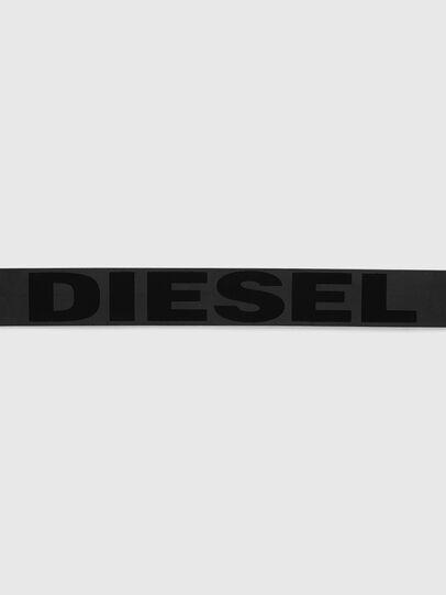 Diesel - BARBAR, Schwarz - Gürtel - Image 3