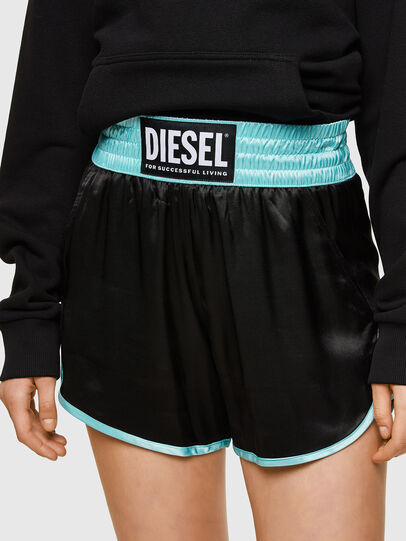 Diesel - S-DENA, Nero - Shorts - Image 3
