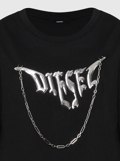 Diesel - T-BOWLY, Schwarz - T-Shirts - Image 3