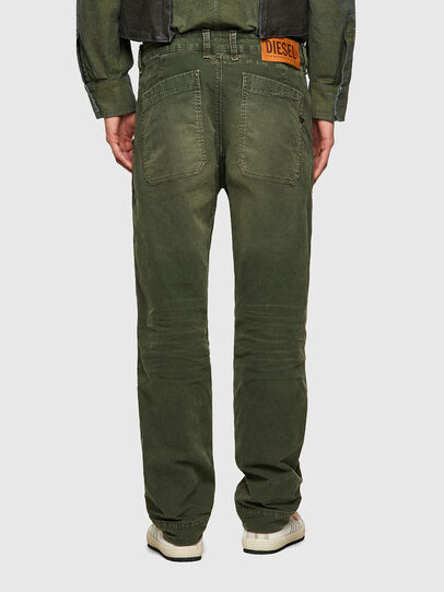 Diesel - D-Azerr JoggJeans® 069WH, Verde Militare - Jeans - Image 2