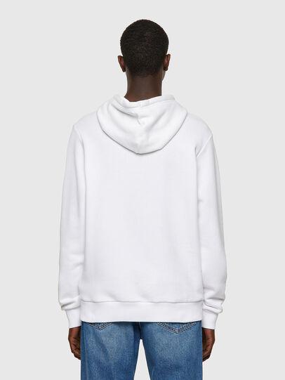 Diesel - S-GIRK-HOOD-B1, Weiß - Sweatshirts - Image 2
