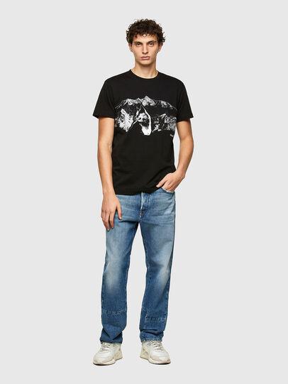 Diesel - T-DIEGOS-A7, Nero - T-Shirts - Image 4