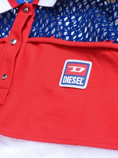 Diesel - TVAITEA, Rot/Weiß - T-Shirts und Tops - Image 3