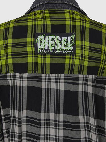 Diesel - D-NIAVY, Schwarz/Weiss - Kleider - Image 6