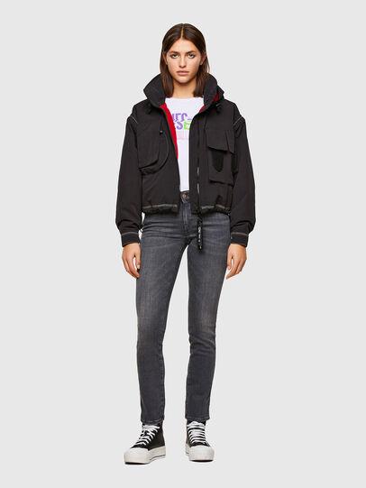 Diesel - Sandy 009FI, Black/Dark grey - Jeans - Image 6