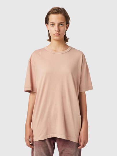 Diesel - T-BOYISH-B2, Rose Poudré - T-Shirts - Image 1