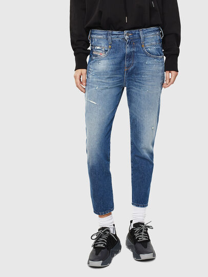 Diesel - Fayza 0097B, Mittelblau - Jeans - Image 1