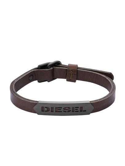 Diesel - BRACELET DX1001, Braun - Armbänder - Image 1