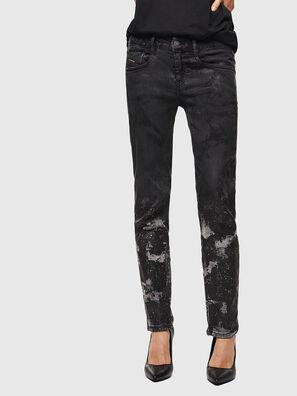 D-Ollies JoggJeans 084AZ, Schwarz/Dunkelgrau - Jeans