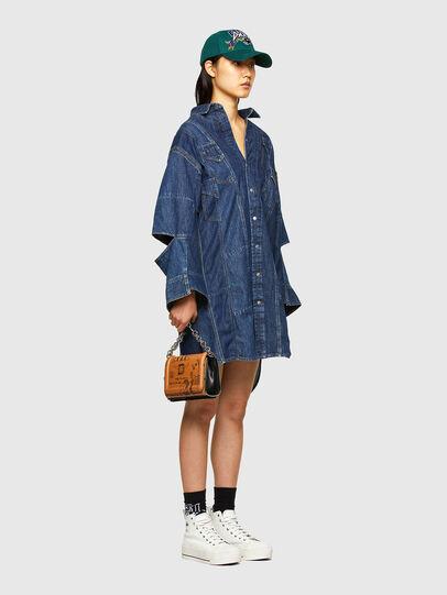 Diesel - CL-DE-BLIV, Bleu Foncé - Robes - Image 6
