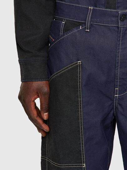 Diesel - D-Franky JoggJeans® 0EEAW, Bleu Foncé - Jeans - Image 4