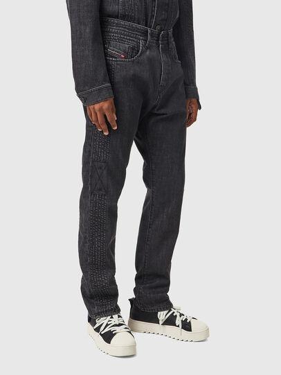 Diesel - D-Viker 0AFAF, Black/Dark grey - Jeans - Image 5