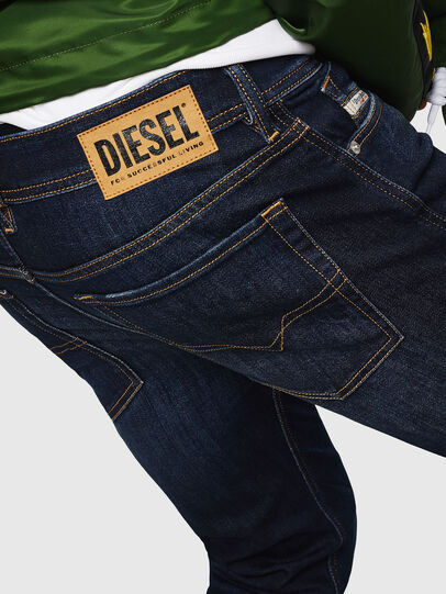 Diesel - Sleenker 083AW, Dunkelblau - Jeans - Image 4