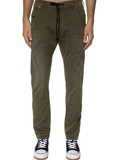 Diesel - Krooley JoggJeans® 0670M, Dunkelgrün - Jeans - Image 1
