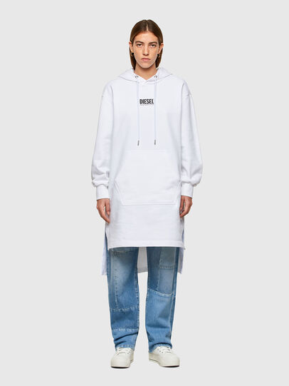 Diesel - D-ILSE-SMALLOGO, Blanc - Robes - Image 1