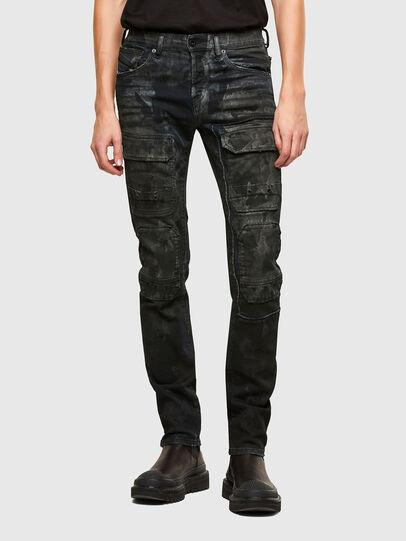 Diesel - TYPE-2019, Dunkelblau - Jeans - Image 1
