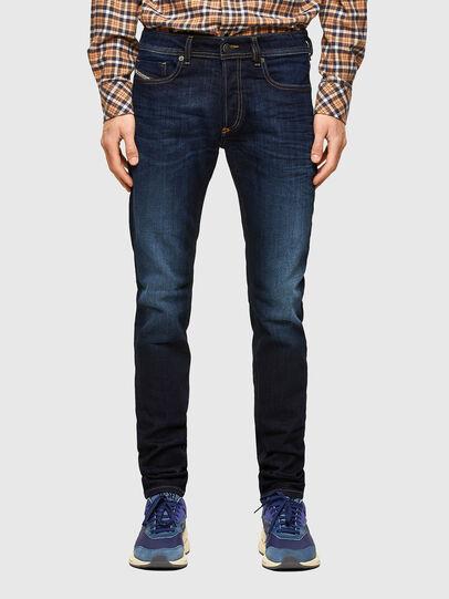 Diesel - Sleenker 009EY, Bleu Foncé - Jeans - Image 1