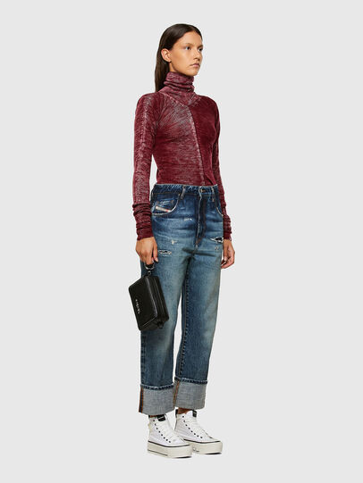 Diesel - M-ISABELLE, Marron - Pull Maille - Image 6