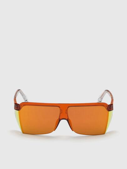 Diesel - DL0319, Orange - Lunettes de soleil - Image 1