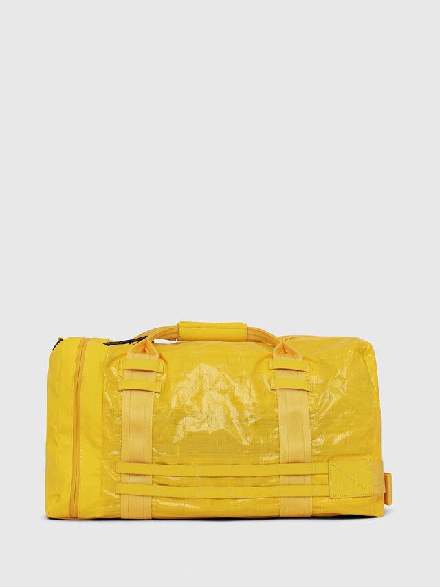 Diesel - M-CAGE DUFFLE M, Gelb - Reisetaschen - Image 2