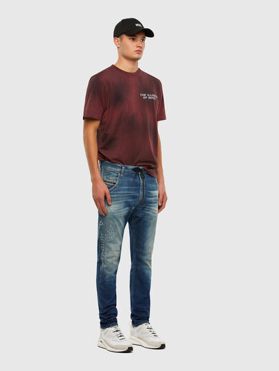 Diesel - KROOLEY JoggJeans® 009NK, Mittelblau - Jeans - Image 6