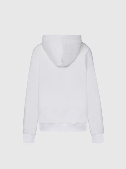 Diesel - F-ANG-HOOD-CUTY, Weiß - Sweatshirts - Image 2
